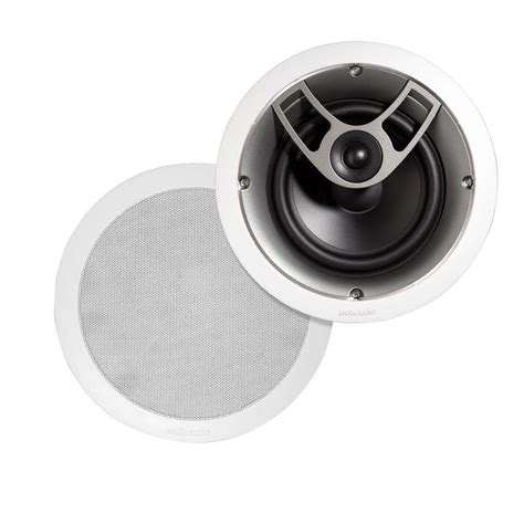 polk audio 100 watt 2 way in ceiling speaker aw2360 a