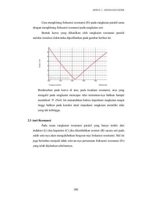 menghitung induktor seri 2 resonansi listrik