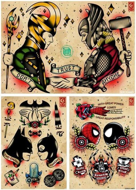 tattoo old school batman tattoos superhero tattoo inspiration by derick james