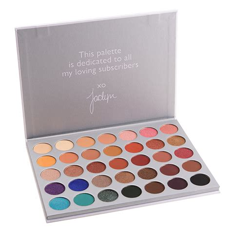Morphe The Hill Palette morphe 35 color eyeshadow palette hill edition