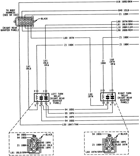 1994 jeep trailer wiring diagram 28 images wiring