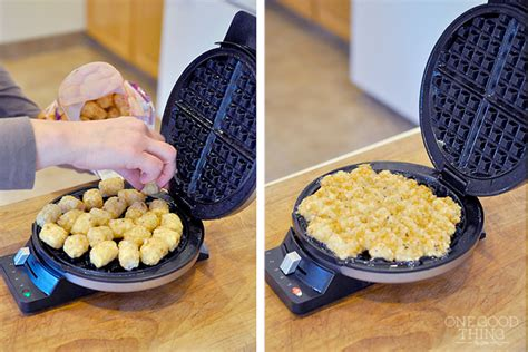 things you can and can t make in a waffle iron one