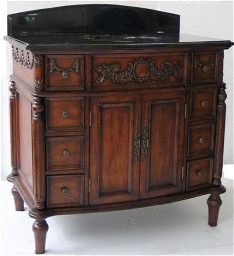 40 bathroom vanity cabinet 40 inch antique style single sink vanity cabinet uvcd01240