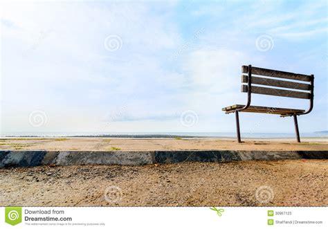 bench beach bench near the beach stock photos image 30967123
