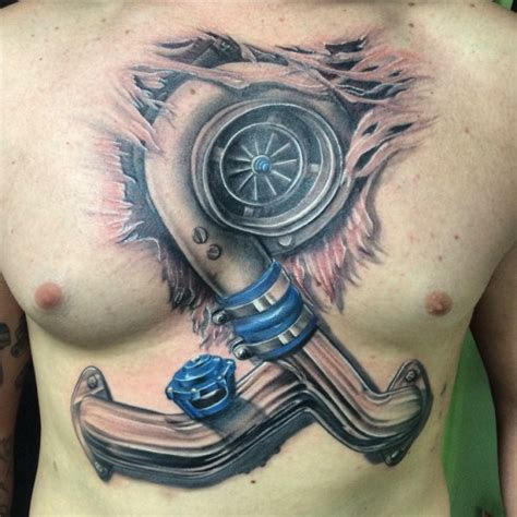 turbo heart tattoo 20 one turbo tattoos designs and ideas