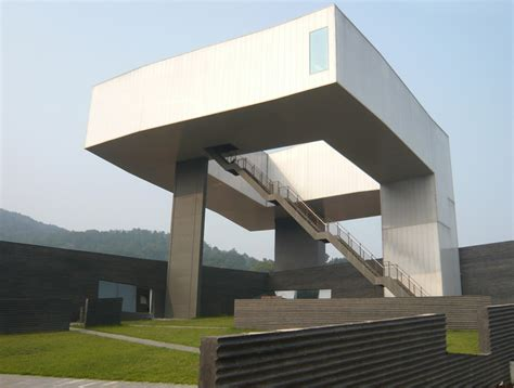 Architecture Design Blogs Steven Holl Completes Green Roofed Nanjing Museum Of