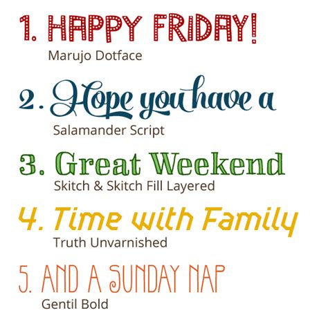 Web Addict Friday Afternoon Reads friday five fonts bellano web studio