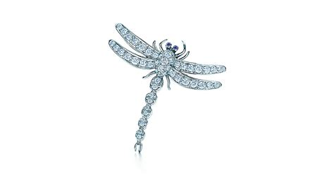 tiffany dragonfly l original tiffany enchant 174 dragonfly brooch in platinum with