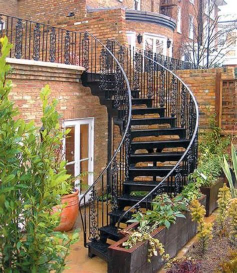 external staircase design image of outside stairs design exterior wrought iron stair railings personalized shapes