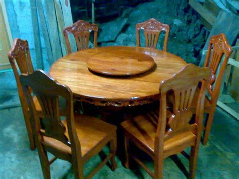 Used Dining Tables On Narra Dining Set Table Narra Furniture For Sale In Isabela Studio Design Gallery Best Design