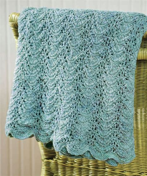 knitted afghans knit wave afghan knitting pattern memes
