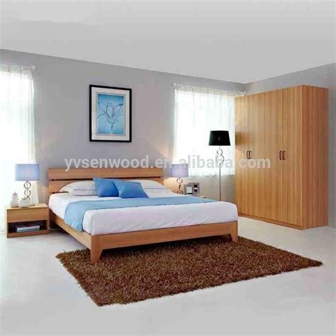 cheap quality bedroom furniture china factory top quality cheap modern design wood bedroom