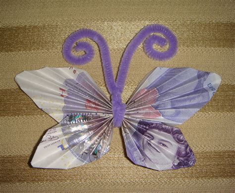 How To Make Money Butterfly Origami - 3d origami base