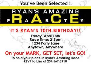 amazing race birthday templates amazing race invitation template wallpaper
