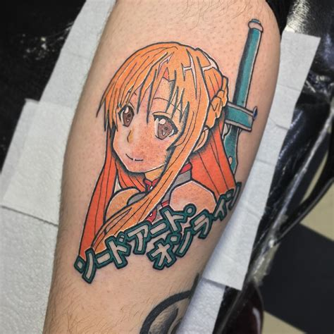 anime tattoo 65 impressive anime ideas fan to die for