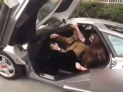 elon musk car watch a young elon musk take delivery of his mclaren f1