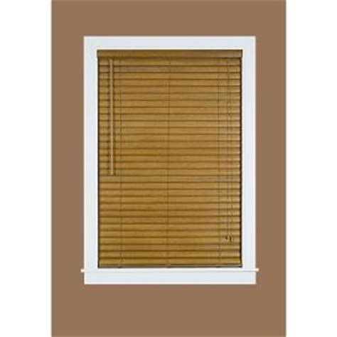 woodgrain 2 in light filtering vinyl mini blind 43