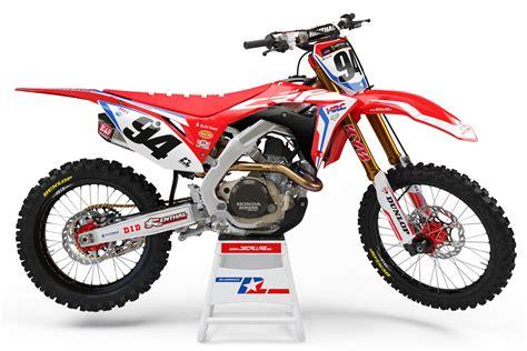 honda motocross racing ken roczen custom dirt bike graphics hrc honda racing