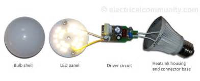 Led Light Bulbs How They Work Led Light Bulbs How Do They Work Electricalcommunity