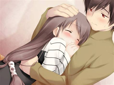 anime couple in bed anime art anime couple romantic love sweet