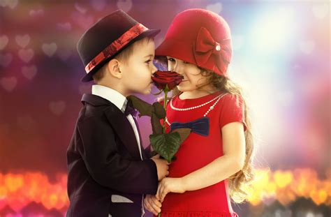 wallpaper small couple wallpaper cute boy cute girl proposal red rose couple