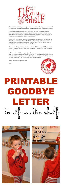 free printable goodbye elf top 25 best elf goodbye letter ideas on pinterest elf