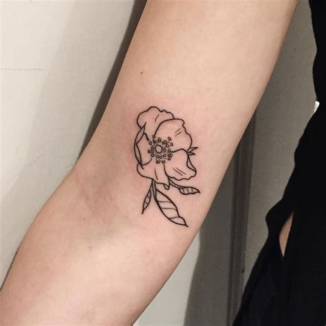 wild rose tattoo black and white www pixshark