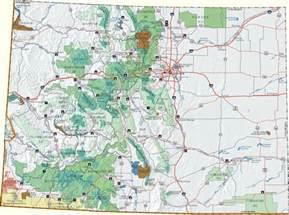 Dispersed Camping Colorado Map 17 best images about camping on pinterest parks ghost