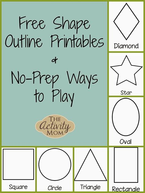 printable for toddler the activity mom shape activities for toddlers