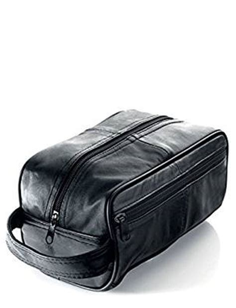 boots mens toiletry bag s black leather toiletry bag s wash