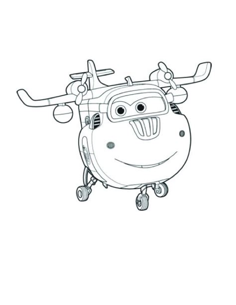 super jet coloring pages disegni colorare super wings donnie