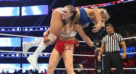 charlotte flair vs rousey ronda rousey and charlotte flair are leading wwe s women s