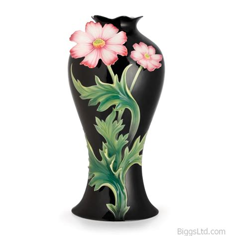 Large Vases With Flowers by Franz Porcelain Cosmos Flower Large Vase Fz02622