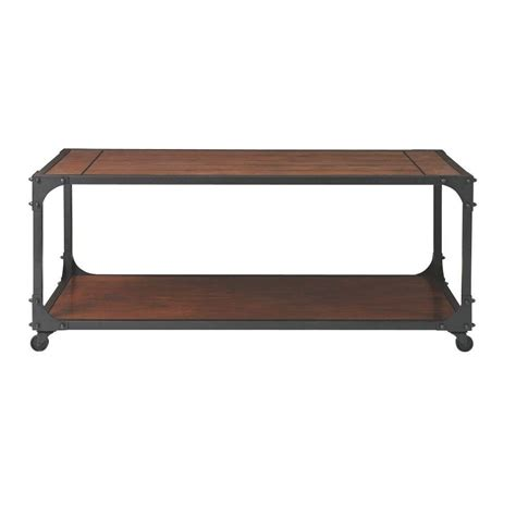home decorators coffee table home decorators collection industrial empire black coffee