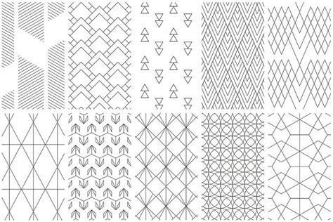 pattern line simple simple line geometric patterns by youan design bundles