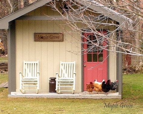 Tuff Shed Chicken Coop by Here S A Chicken Coop From A Tuff Shed For The Ranch