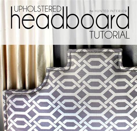 diy upholstered headboard tutorial the world s catalog of ideas