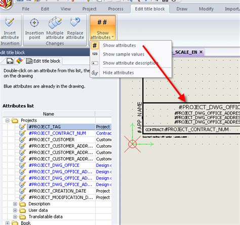 solidworks tutorial title block solidworks electrical attribute visibility styles in title