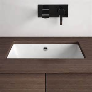 vasque 224 encastrer par dessous rectangulaire 46x34 cm