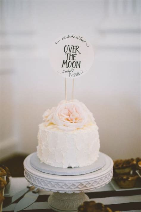 Wedding Cake One Tier by Picture Of Pretty One Tier Wedding Cakes To Get Inspired 4