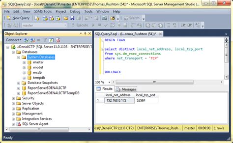 sql port ports for sql server services the lone dba