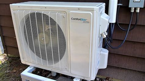 comfort star heat pump comfort star heat pump youtube