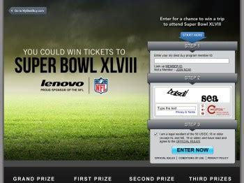 Superbowl Sweepstakes - lenovo super bowl sweepstakes sweepstakes fanatics