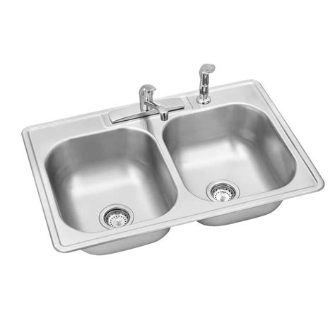 Kitchen Sink Kit Elkay Gourmet Undermount Stainless Steel 31 In Single Bowl Kitchen Sink Kit Eluh2816dbg The