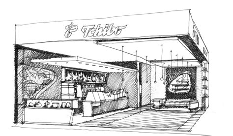 Sketches Or Skits by Tchibo Cafe Bose Architects