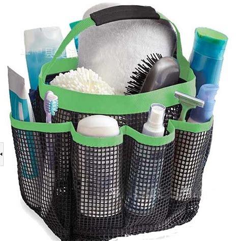 bathroom tote organizer shower bath caddy mesh pockets portable tote organizer