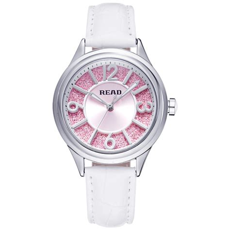 fashion watches white leather read