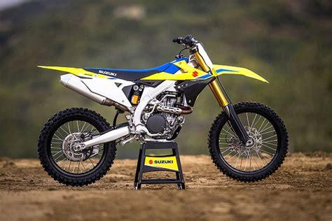 Suzuki Rm 450 by 2018 Suzuki Rm Z450 Motocross Review Specs Pics Bikes