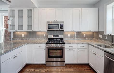 white kitchen cabinets with granite countertops photos kitchens with white cabinets and granite countertops
