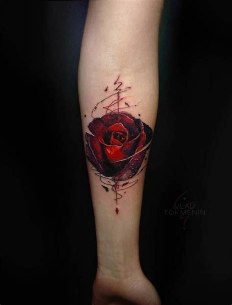 tattoo art styles graphic style on the inner forearm